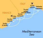 Budget cruising made easy along the French and Italian Riviera with easyCruise.com